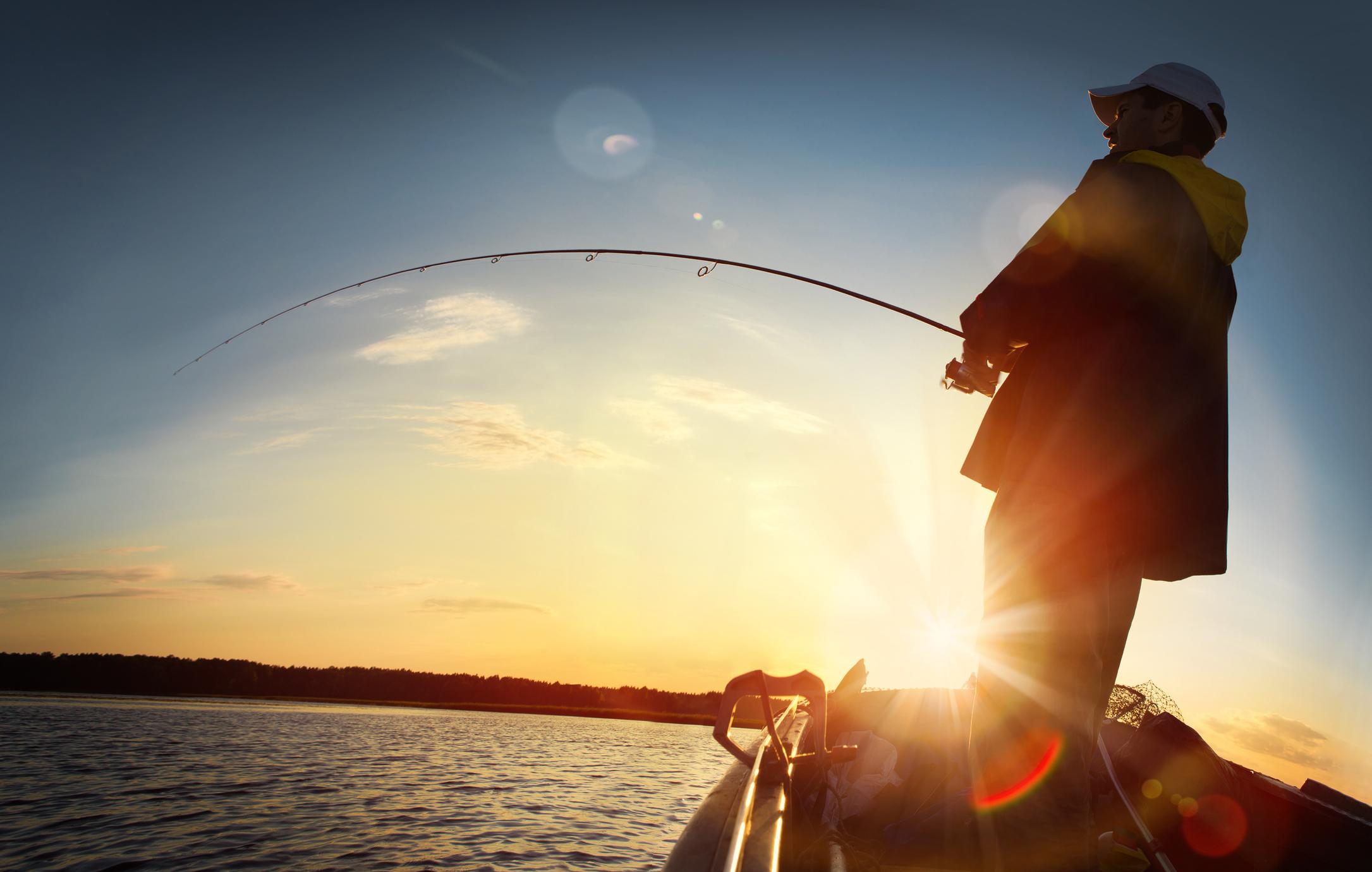 Fishing Boat at Sunrise