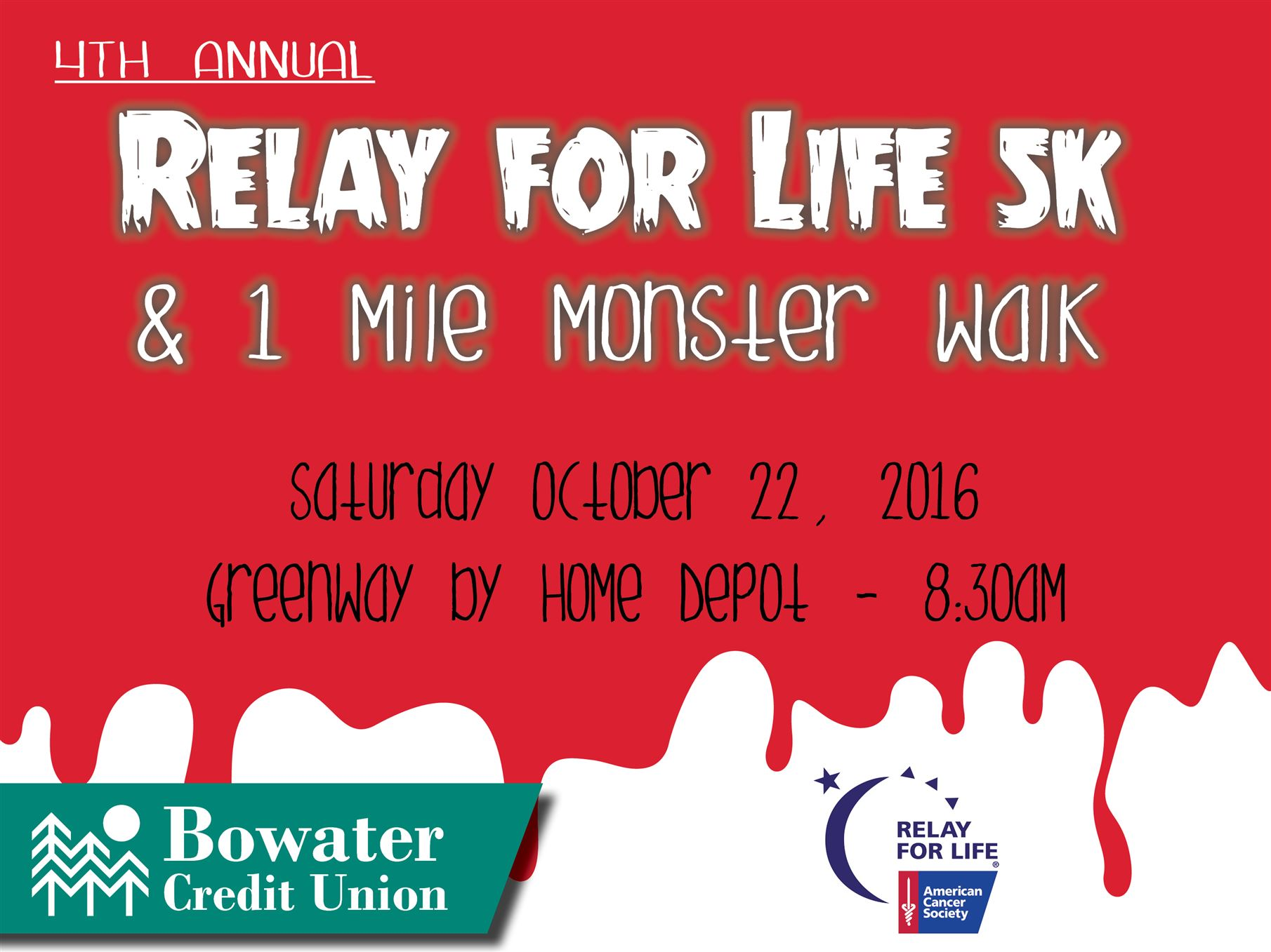 Becu Auto Loan >> Relay for Life Monster Run 5k RESULTS | Bowater Credit Union
