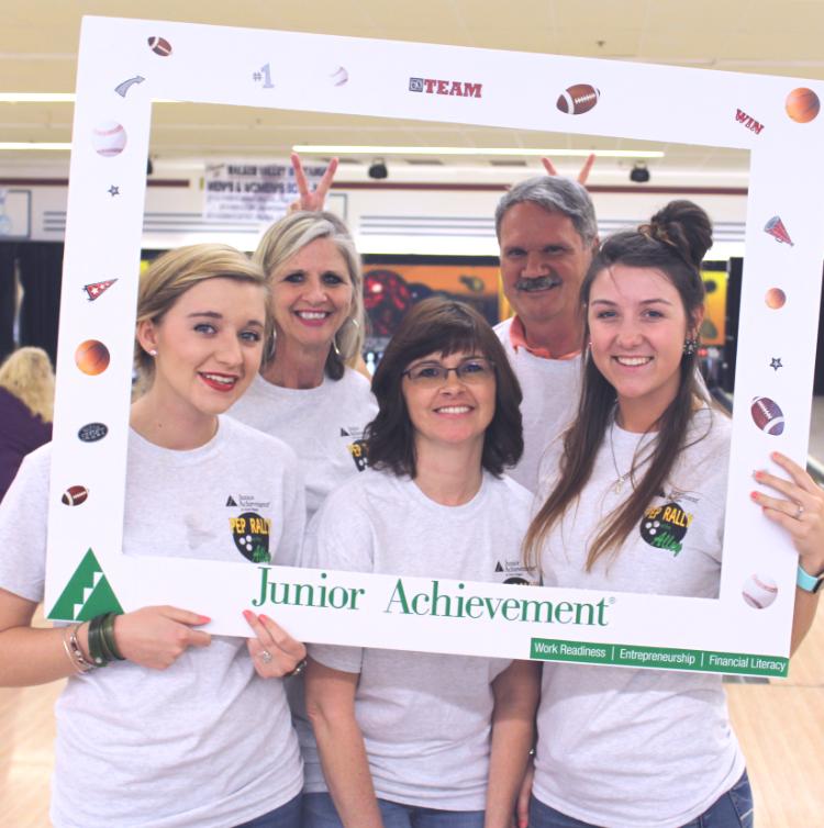Bowl-A-Thon Group Shot Junior Achievement