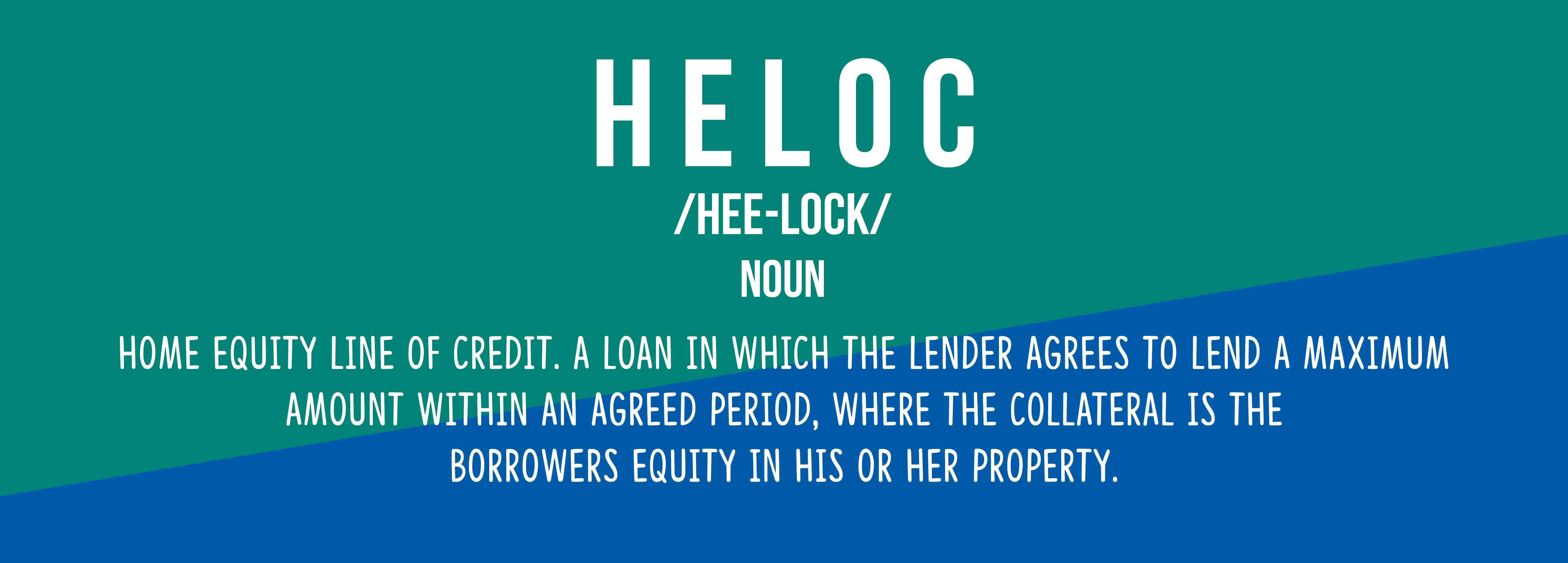 Image of definition of Heloc