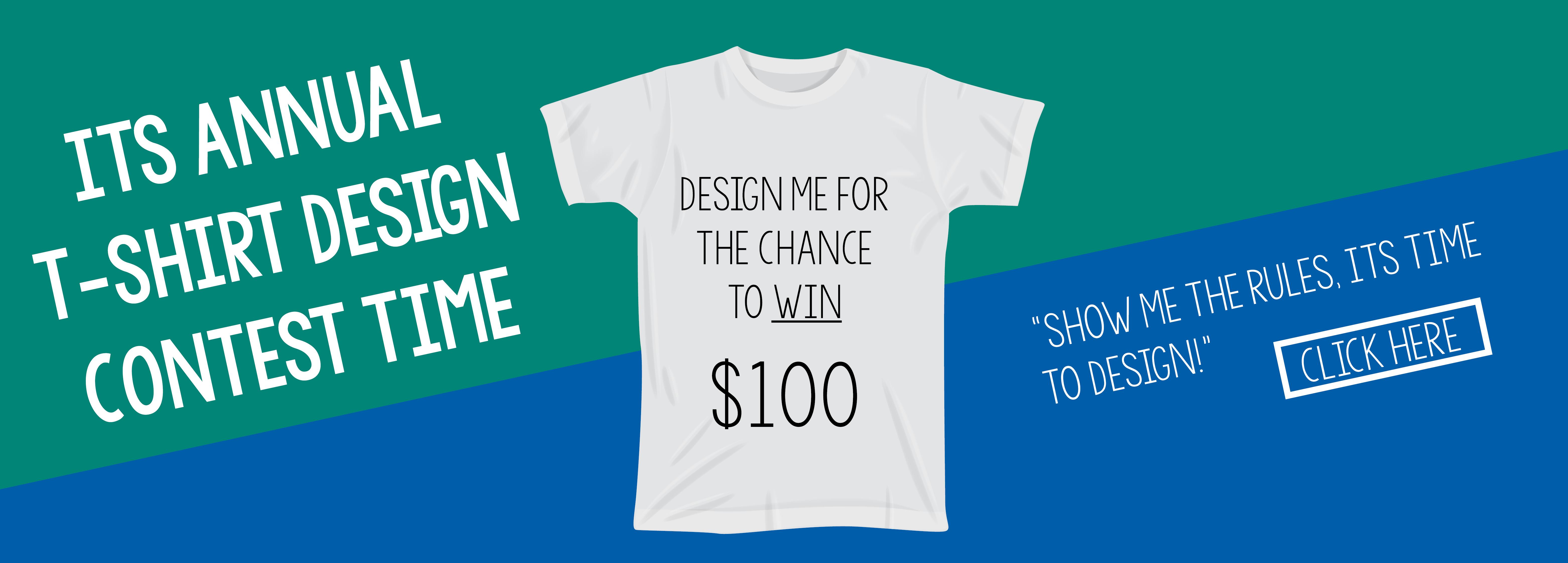 Annual T-Shirt Design Contest