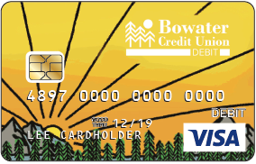picture of adventure is out there debit card