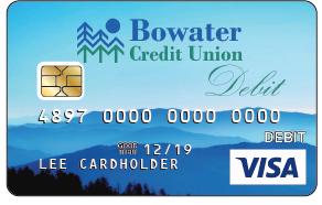 picture of standard mountain debit card
