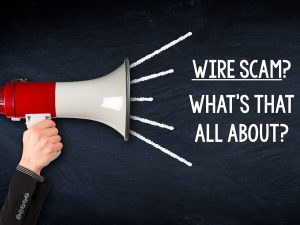 wire scam