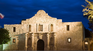 Stand Where History Took Place At The Alamo