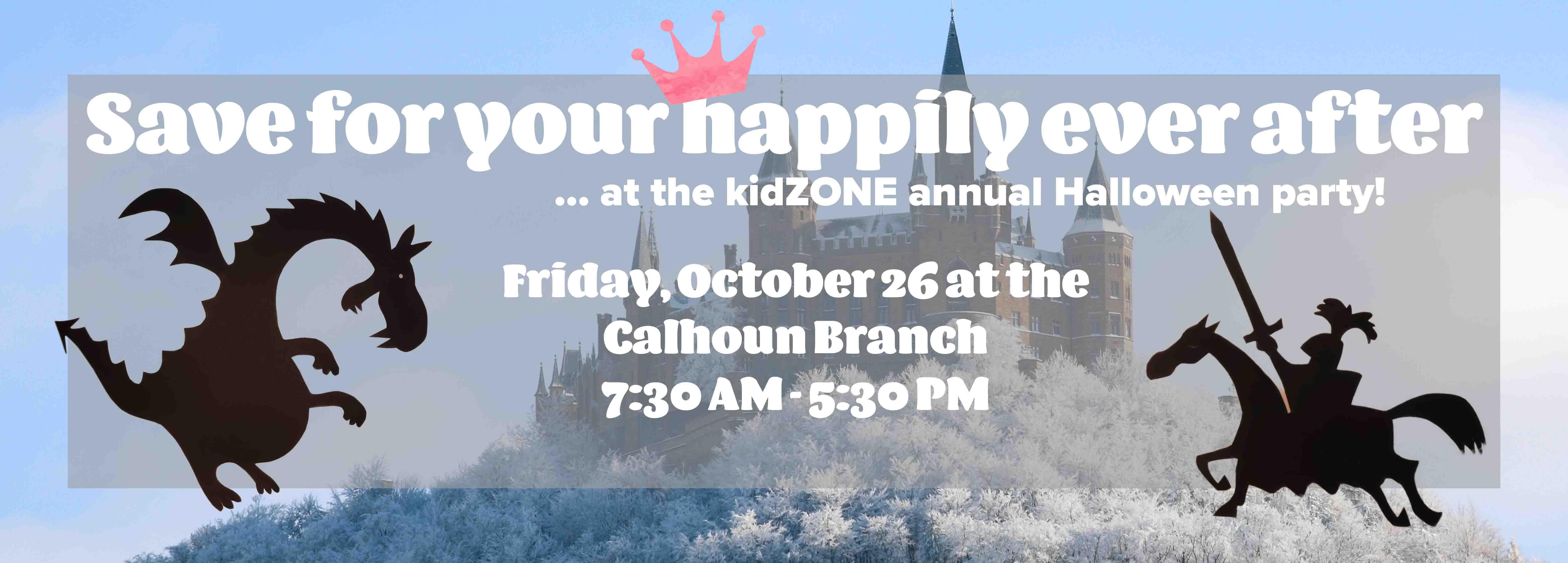 kidZONE Halloween Party - Friday Oct 26!