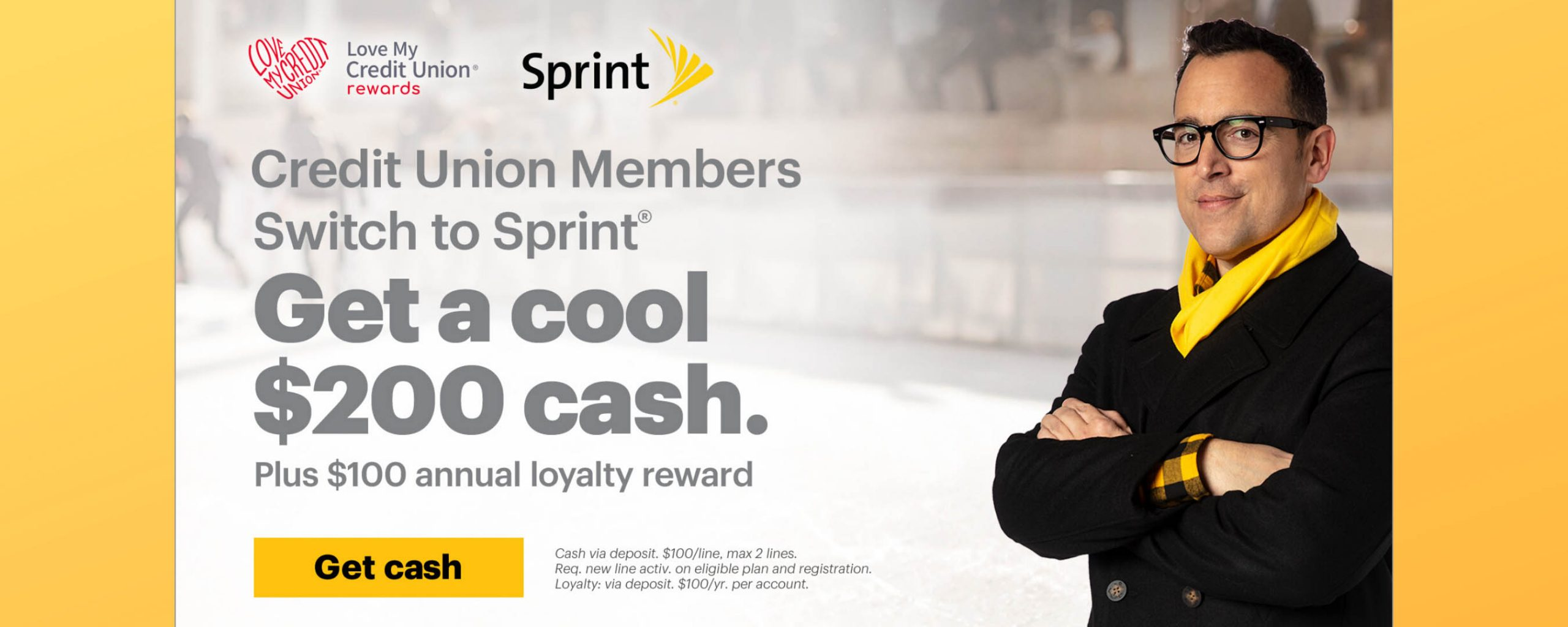 Credit Union Members Get $200 From Sprint